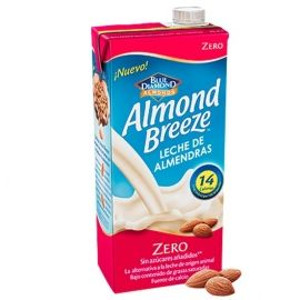 Pack Almond Breeze Zero 6 Brick 1 L.