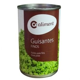 Guisantes coaliment, bote 390 gr.