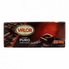 Chocolate puro Valor tableta 300 g