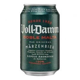 Cerveza Voll Damm 33 cl pack 12 latas