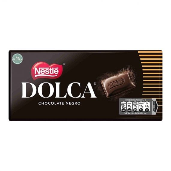 Chocolate negro Nestle Dolca 125 g