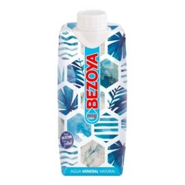 Agua mineral Bezoya 500 ml pack 12 bricks