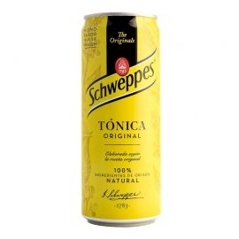 Tónica Schweppes 33 cl pack 24 latas