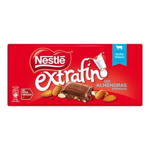 Chocolate Nestle con almendras 123 g