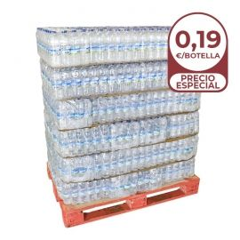 Agua Sierra del Águila 500 ml palet 60 pack 24 botellas