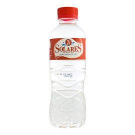 Agua mineral Solares 330 ml pack 42 botellas
